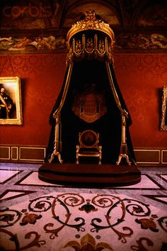 Throne Room in Palace of Monaco