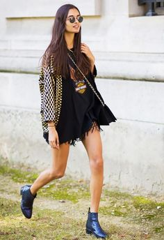 Fringe is not only reserved for Coachella season, rock it year round as the statement piece in your outfit