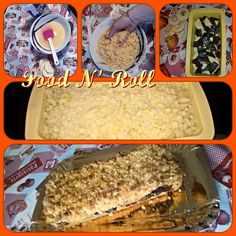FOOD N' ROLL   ......................   il blog   ...: TORTA BRICIOLINA...