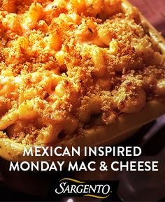 Add a kick to a classic mac and cheese in 30 minutes! Try this recipe with salsa, cilantro and Sargento Fine Cut Shredded 4 Cheese Mexican.
