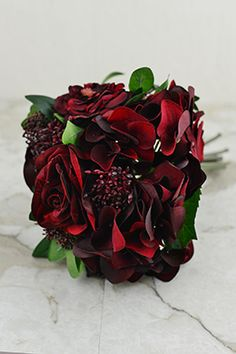 Velvet Rose Bouquet 12in