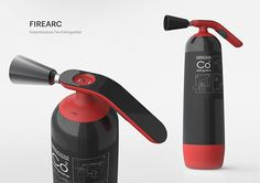 FireArc Instantaneous Fire Extinguisher on Behance