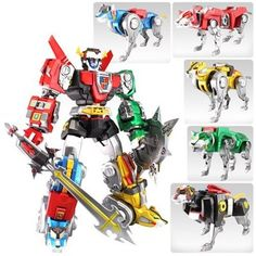 Voltron Ultimate Edition EX 16-Inch Action Figure You've never seen Voltron like this!The Ultimate Voltron you need for your collectiion!Impressive 16-inches tall!All 5 lions come apart with multiple points of articulation!This is Voltron as you've never seen before! The 5 lions will form Voltron, and each transforms separately into their own anatomically correct stance. Includes shield and sword accessories.This Toynami interpretation that captures the Voltron essence of power and mig...