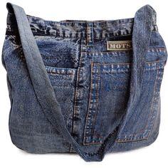 Jeans Denim Cotton Bag Purse Indian Handmade tote shoulder hobo cross... (€26) ❤ liked on Polyvore featuring bags, handbags, accessories, messenger bag, denim handbags, special occasion handbags, evening handbags and messenger purse
