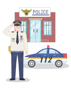 SPAI146, 프리진, 일러스트, 에프지아이, 직업, 직업군, 사람, 캐릭터, 일러스트, 비즈니스, 웃음, 미소, 행복, 손짓, 심플, 재밋는, 꿈, 장래희망, 장래, 희망, 교육, 1인, 서있는, 남자, 유니폼, 경찰, 경례, 인사, 파출소, 경찰서, 차, 교통, 112, 신고, 경찰복, 모자, 경찰모자, 경찰청, 공무원, 경찰관, illust, illustration #유토이미지 #프리진 #utoimage #freegine 20027662
