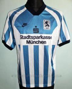 1860 Munich II Casa camisa de futebol 1995 - 1996