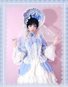 lolita rococo lolita fashion lolita dress lolita style sweet lolita EGL