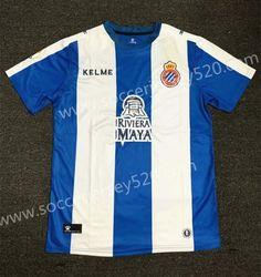 48d4be9d0 2019-20 RCD Espanyol Home Blue White Thailand Soccer Jersey AAA-407