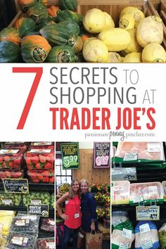 Do you shop Trader Joe's? Trader Joe's is a great option for unique items and quality food - but if you're looking to save money too there are some secrets you need to know! Day Trader, Trader Joes, Life On A Budget, Create A Budget, Lots Of Money, Financial Goals, Budgeting Tips, Brighten Your Day, Ways To Save