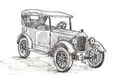 How to Draw a Car drawing tutorial #art
