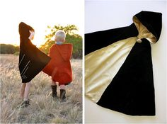 Want to know how to make a cape? If you're looking to complete a DIY costume or just want to play dress up, these DIY cape ideas will help. Sewing For Kids, Baby Sewing, Diy For Kids, Hooded Cape Pattern, Sewing Hacks, Sewing Projects, Sewing Tutorials, Cape Tutorial, Tangled Movie