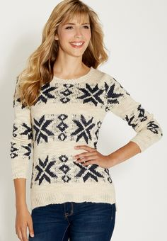 pullover sweater in