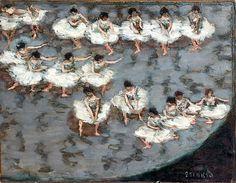 Pierre Bonnard / Le Ballet, vers 1896