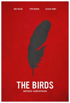 The Birds ~ Minimal Movie Poster by Calm the Ham ~ Hitchcock Series Minimal Movie Posters, Film Posters, Alfred Hitchcock, The Birds Movie, Fight Club Rules, Epic Movie, Awesome Movies, Poster Online, Bird Poster