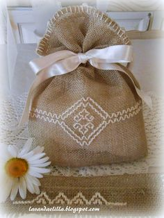 Lavender sachet is an especially nice gift if you've grown the lavender yourself.