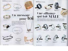 """Marions Nous Magazine - Jonc gravé """"Endless Love"""" et Chevalière couronne"""