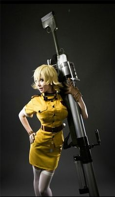 Hellsing Seras Victoria #sexy #cosplay #girl