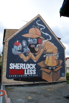 street art by mr thoms in copenhagen denmark - fifth most popular mural of august 2013