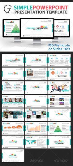 Gstudio Simple Powerpoint Presentation Template