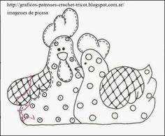 patrones de gallinas                                                                                                                                                                                 Más