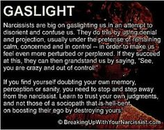 Narcissistic Personality Disorder - This so accurate. I got out. I was called crazy. What I was - pregnant and that's what saved me. Under no circumstances was my baby living in this scary, smiling, even, abusive, hot mess.
