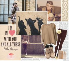 """""""Little Things // Josh Cuthbert"""" by swiftdreams1d ❤ liked on Polyvore"""