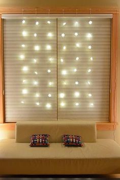 Set up some festive lights as a Christmas star  Just use Command     Add some twinkling lights to any window with ease by using festive string  lights and damage free Command       Clear Decorating Clips