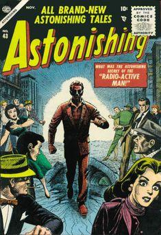 Cover for Astonishing (Marvel, 1951 series) #43
