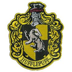 Harry Potter House of Hufflepuff Hogwarts Crest Patch 4 3... https://www.amazon.com/dp/B008R2LGBA/ref=cm_sw_r_pi_dp_x_N8EHybEE2PPQA