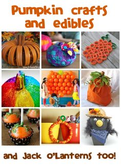 Pumpkin Crafts & Recipes - Fun Family Crafts