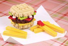 lego cheeseburger - Google Search