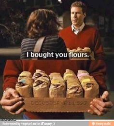 I brought you flour flours. flowers will ferrel ifunny king box. omg. lol dumb / iFunny :)