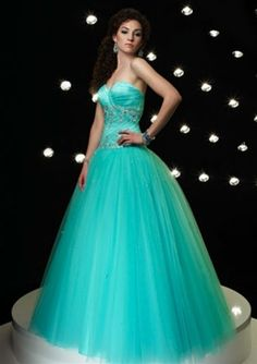 Dresses now are much more beautiful than when I had my quince.