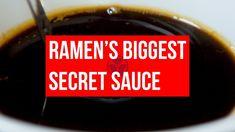 Ramen Recipes, Sauce Recipes, Asian Recipes, Cooking Recipes, How To Make Ramen, Making Ramen, Tare Sauce Recipe, Japanese Ramen, Japanese Food