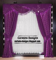 Purple Curtains And Windows Treatments Styles