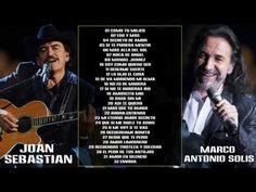 Marco Antonio Solís Y Joan Sebastian Sus Mejores Éxitos 2016   Mix Romanticas 2016 - YouTube