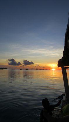 Sunset at Karimun Jawa, Indonesia