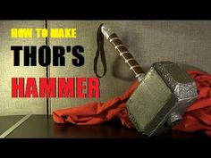 How to Make Thor's Hammer - Avengers: Age of Ultron - YouTube