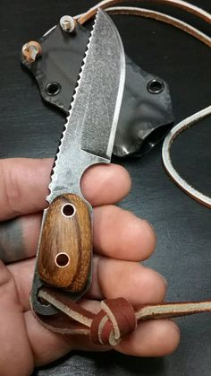 Check out this item in my Etsy shop https://www.etsy.com/listing/580863960/custom-hand-made-neck-knife-o1-tool