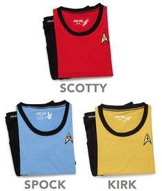 Star Trek TOS Ladies Pajama Set