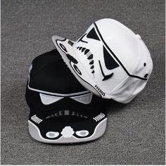 Star Wars Snapback Caps Cool Strapback Letter Baseball Cap Bboy Hip-hop Hats For Men Women