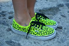 Chiara from Chiara Nasti in the Neon Leopard Authentic Sneaker by Vans (http://www.nastygal.com/product/authentic-sneaker-neon-yellow-leopard)