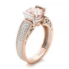 Joseph Jewelry mixed metals engagement ring @weddingchicks