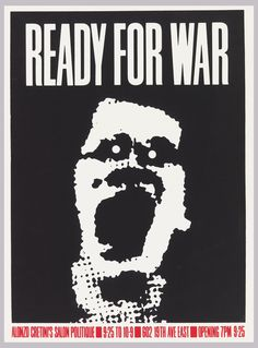 Poster | Ready for War | 1982
