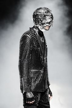99%IS- A/W '14 -15' 「always」@Beth J J J J J J J Walker東京 - black leather studded suit
