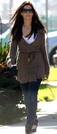 Sandra Bullock - hair, long layers