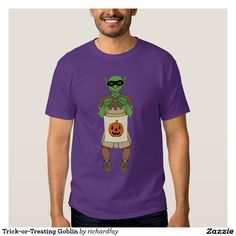 Trick-or-Treating Goblin T-Shirt