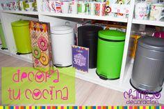 Por que a la #decoración de tu #cocina le falta un #cubo!!!!! Elige entre los diferentes modelos, el color que más te guste!!!!