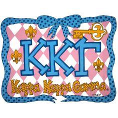 *Pillowcase for Kappa Kappa Gamma* :)