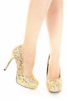 Glitter pumps, Pump and Toe on Pinterest